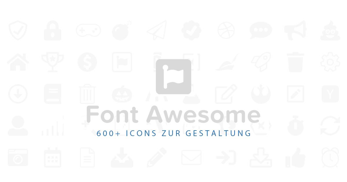 FontAwesome Icons zur Gestaltung Ihrer eBay Angebote