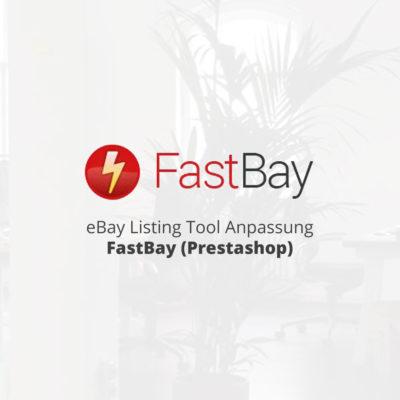 eBay Listing Tool Anpassung FastBay (Prestashop)